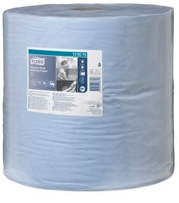 Tork Heavy-Duty Paper Roll Blue